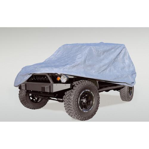Rugged Ridge Full Car Cover; 04-16 Jeep Wrangler Unlimited LJ/JK 13321.71