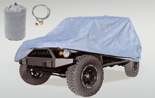 Rugged Ridge Full Car Cover Kit; 81-86 Jeep CJ8/04-16 LJ/07-16 JK 13321.73