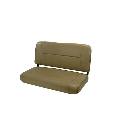 Rugged Ridge Fixed Rear Seat, Nutmeg; 55-95 Jeep CJ/Wrangler YJ 13461.07