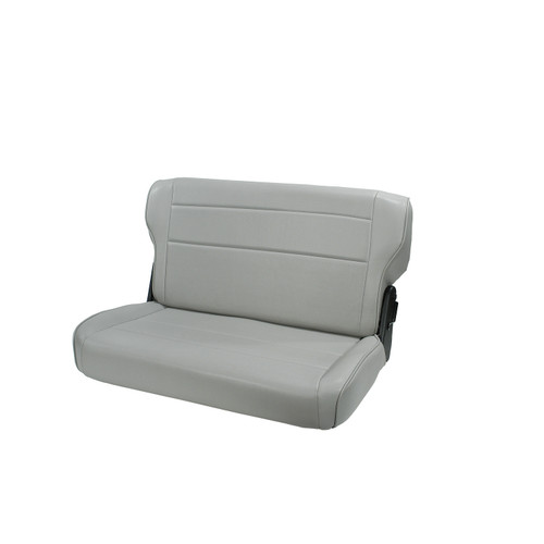 Rugged Ridge Fold and Tumble Rear Seat, Gray; 76-95 Jeep CJ/Wrangler YJ 13462.09