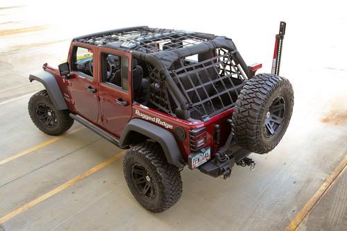 Rugged Ridge Cargo Net, Black; 07-16 Jeep Wrangler JK 4 Door 13552.71