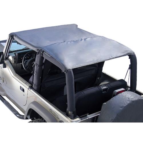 Rugged Ridge Header Roll Bar Top, Black Diamond; 97-06 Jeep Wrangler TJ 13581.35