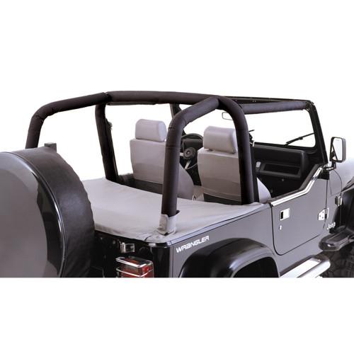 Rugged Ridge Full Roll Bar Cover Kit; 97-02 Jeep Wrangler TJ 13612.15