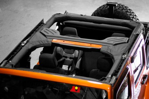 Rugged Ridge Roll Bar Cover, Polyester; 07-16 Jeep Wrangler JKU 13613.01
