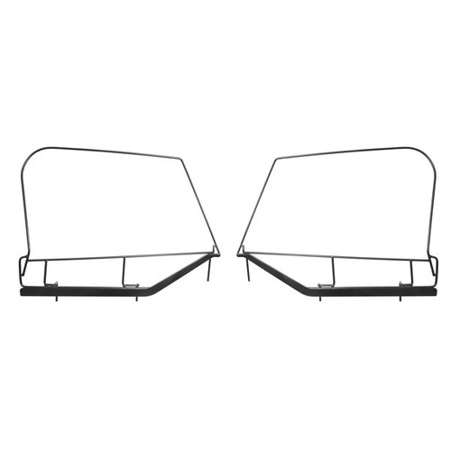 Rugged Ridge Upper Door Skin Frames; 97-06 Jeep Wrangler TJ 13703.80