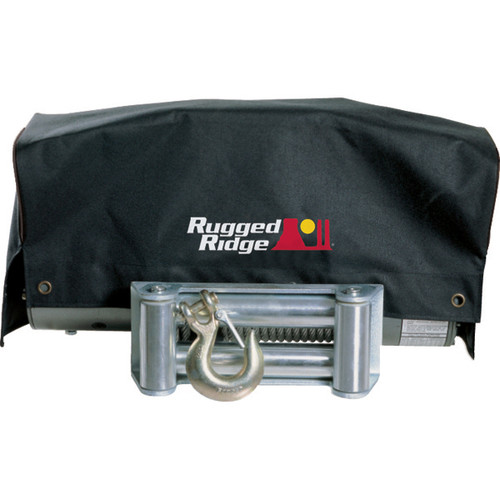 Rugged Ridge Winch Cover, 8500 and 10500 winches 15102.02