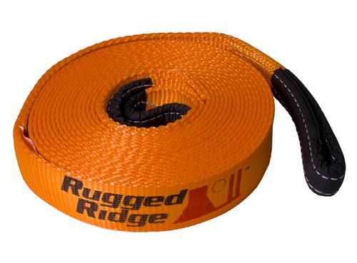 Rugged Ridge ATV/UTV Recovery Strap, 1 Inch x 15 feet 15104.04