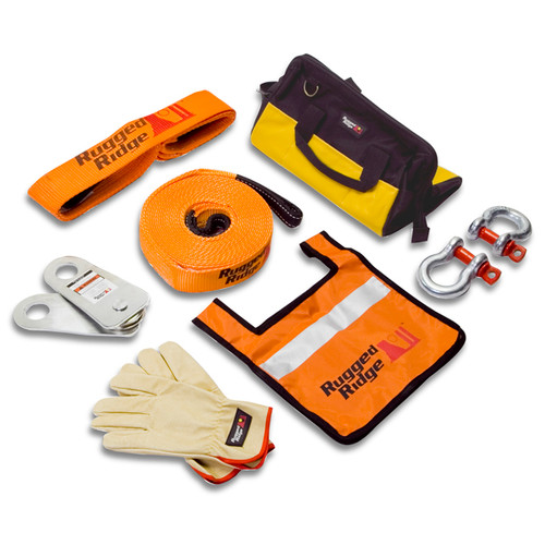 Rugged Ridge XHD Recovery Gear Kit, 20000 Pounds 15104.25