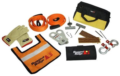 Rugged Ridge ATV/UTV Deluxe Recovery Gear Kit 15104.26
