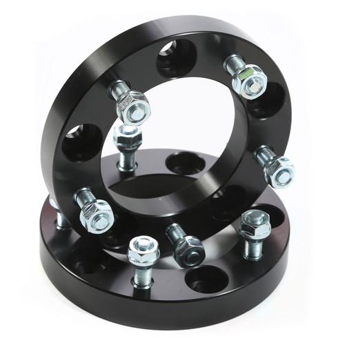 Rugged Ridge Wheel Spacers, 1.00 Inch, Black; 86-05 Suzuki Models 15201.13