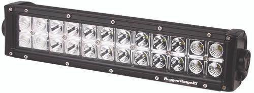 Rugged Ridge 13.5 Inch LED Light Bar, 72 Watt, 6072 Lumens 15209.11