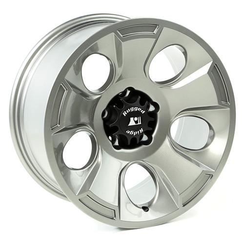 Rugged Ridge Drakon Wheel, 18x9, Gun Metal; 07-16 Jeep Wrangler JK 15302.31