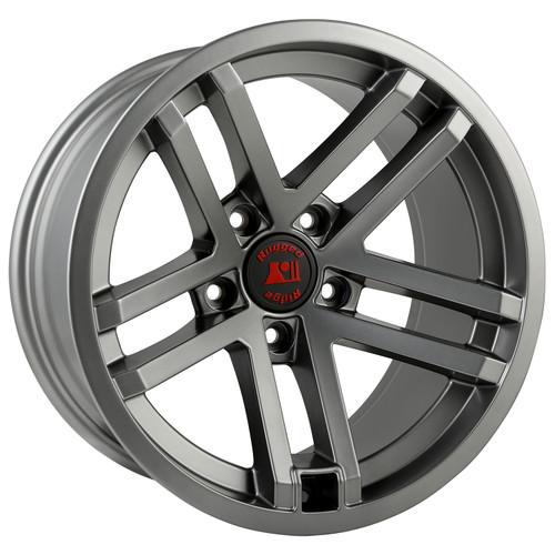 Rugged Ridge Jesse Spade Wheel, 17x9, Satin Gun Metal; 07-16 Jeep Wrangler JK 15303.92