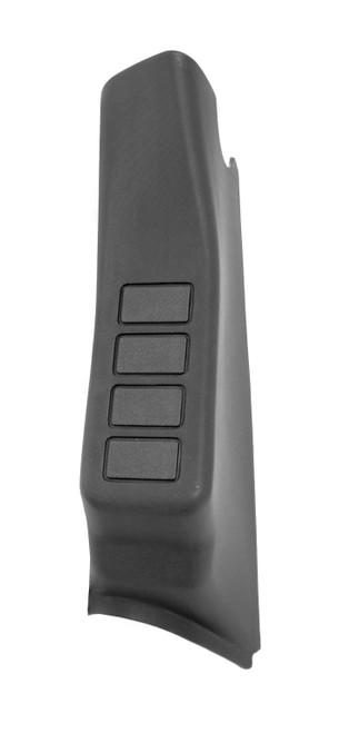 Rugged Ridge A-Pillar 4 Switch Pod, Black LHD; 11-16 Jeep Wrangler JK 17235.58