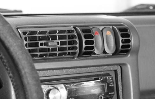 Rugged Ridge AC Vent Switch Pod; 97-06 Jeep Wrangler TJ 17235.80