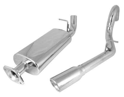 Rugged Ridge Cat Back Exhaust System, Stainless Steel ; 00-06 Jeep Wrangler TJ 17606.71