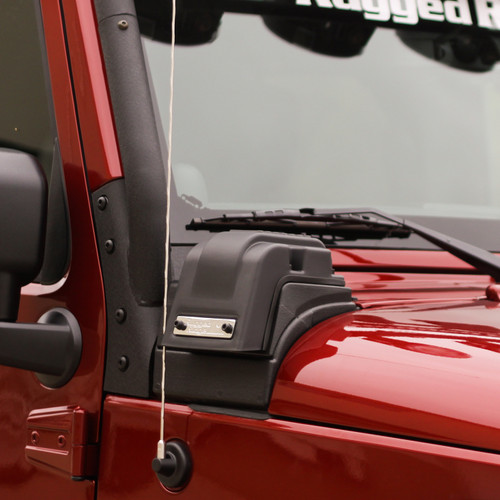 Rugged Ridge XHD Low-Mount Snorkel, 3.6L; 12-16 Jeep Wrangler JK 17756.08