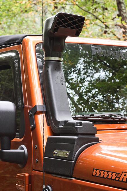 Rugged Ridge XHD Snorkel Kit, 3.6L/3.8L; 07-16 Jeep Wrangler JK 17756.21