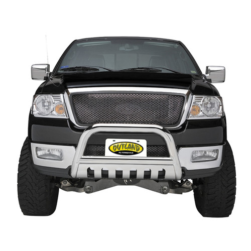 Rugged Ridge License Plate Bracket, Bull Bar, 3 Inch 81503.90
