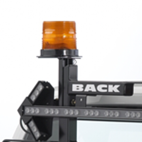 Backrack Light Brkt 6.5'' Teardrop Base, Drivers Side, Backrack Fasteners Incld 81001