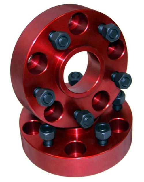 Alloy USA Wheel Adapters, 5x4.5 to 5x5.5; 84-06 Jeep Cherokee/Wrangler XJ/YJ/TJ 11310