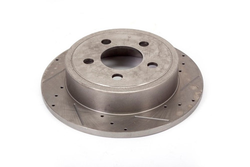 Alloy USA Disc Brake Rotors (2), 12 in, Drilled/Slotted; 03-06 Jeep TJ/02-07 KJ 11352