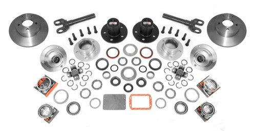 Alloy USA Manual Locking Hub Conver Kit; 84-95 Jeep Cherokee/Wrangler XJ/YJ 12194