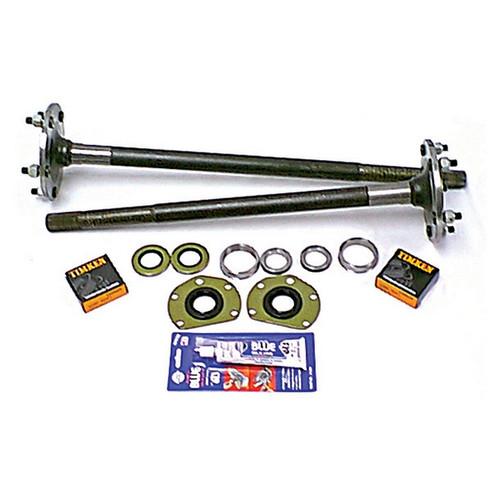 Alloy USA Axle Shaft Kit, 1 Piece, Wide Track; 82-86 CJ7/CJ8 Scrambler, AMC 20 16530.21