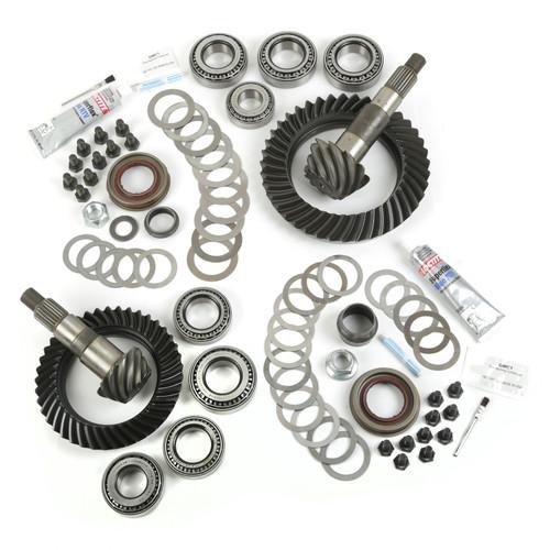 Alloy USA Ring and Pinion Kit, 4.10 Ratio, for Dana 30/44; 07-17 Jeep Wrangler 360002