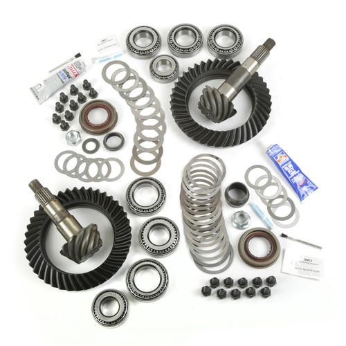 Alloy USA Ring and Pinion Kit, 4.10 Ratio, for Dana 44/44; 07-17 Jeep Wrangler 360005