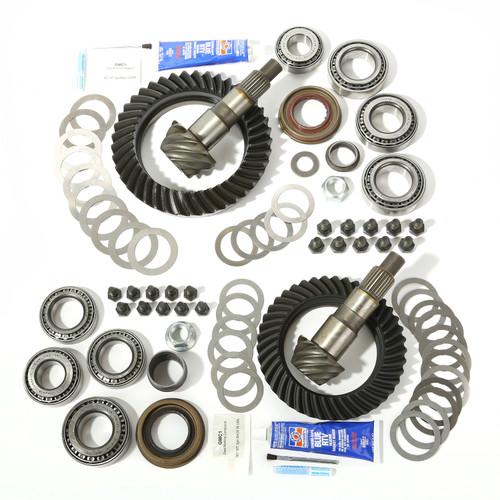Alloy USA Ring and Pinion Kit, 4.56 Ratio, for Dana 30/44; 07-17 Jeep Wrangler 360009