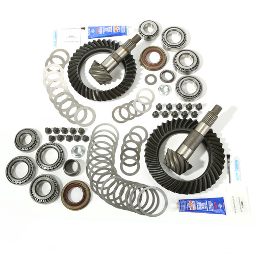 Alloy USA Ring and Pinion Kit, 4.56 Ratio, for Dana 44/44; 07-17 Jeep Wrangler 360010