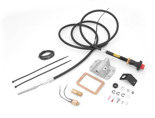 Alloy USA Differential Cable Lock Kit, Lifted for Dana 30; 84-95 Wrangler XJ/YJ 450920