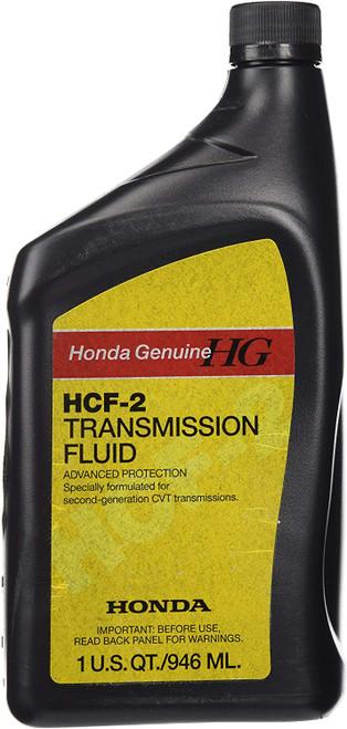 Honda Genuine HCF-2 Transmission Fluid 1 Quart 08200-HCF2