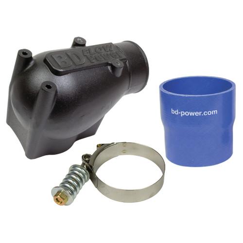 BD Diesel X-Flow Power Intake Elbow (Black) - Ford 2003-2004 6.0L 1041570