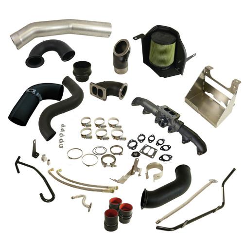 BD Diesel BD Cummins 6.7L Cobra Turbo Install Kit - Dodge 2013-2018 w/S300SX-E Secondary 1045766
