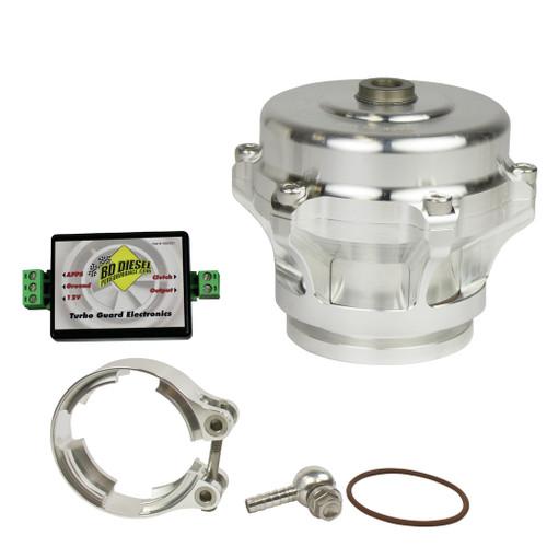 BD Diesel Turbo Guard Kit - Steel Adapter / Silver Valve 1047250SS