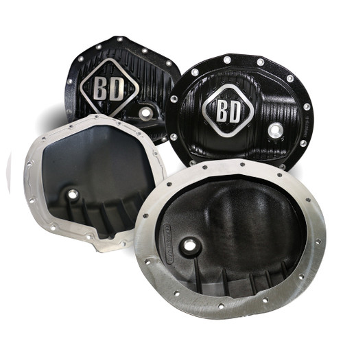 BD Diesel BD Dodge Front & Rear Differential Cover Pack - 2500 2014-2018 / 3500 2013-2018 1061829