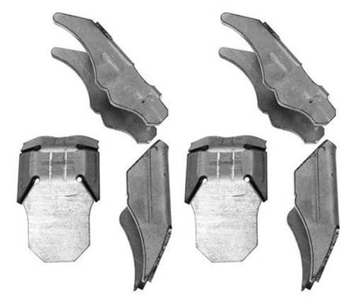 G2 Axle and Gear C Gusset Kit Dana 30/44 Front Axle 07-Pres Wrangler JK/JK Unlimited 68-2051-2