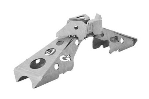 G2 Axle and Gear Dana 44 Rear Axle Truss No Steering Ram Mount 07-Pres Wrangler JK Rubicon 2/4 Door 68-2052-1
