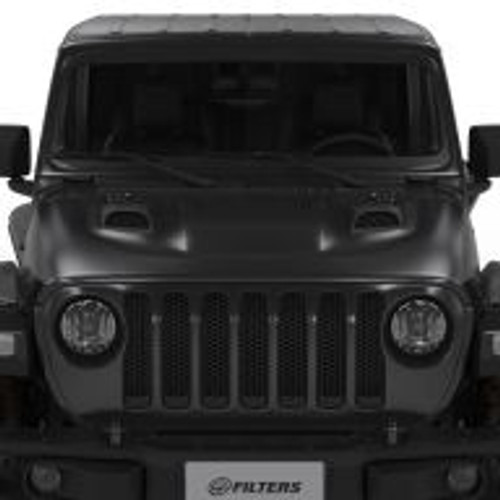 AIR HOOD SCOOPS FOR JEEP JL RUBICON / GLADIATOR (SCOOPS ONLY)