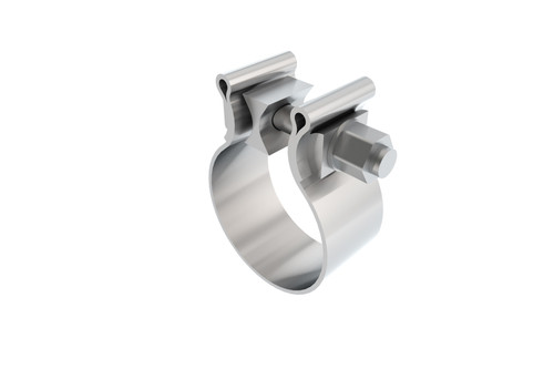Borla AccuSeal Stainless Single Bolt Band Clamp. 18322