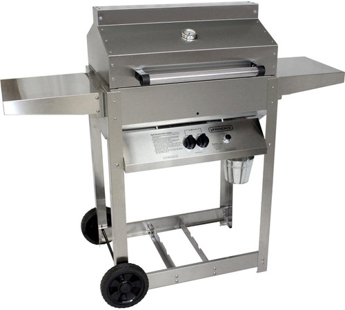 SS RIVETED 4 LEGGED PHOENIX GRILL (NATURAL GAS)                                                       SDRIV4LDDN