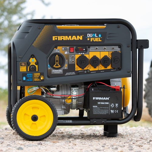 DUAL FUEL 10,000/8,000 WATT(HYBRID SERIES)EXTENDED RUN TIME GENERATOR ELECTRIC START                  H08051