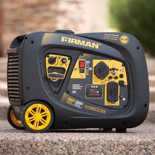 ELECTRIC START GAS POWERED 3300/3000 WATT(WHISPER SERIES)EXTENDED RUN TIME INVERTER GENERATOR         W03082