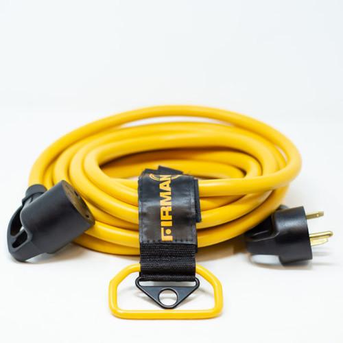 25FT POWER CORD TT-30P TO TT30R, 10 GUAGE 30AMP WIRING, STORAGE STRAP                                 1110