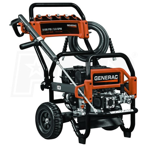 Generac Power Systems (5994)CARB-COMMERCIAL 3100PSI PRESSURE WASHER   6607