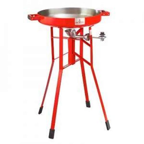 FIREDISC Deep Pan Cooker - 36in High - Red - TCGFD22HRR