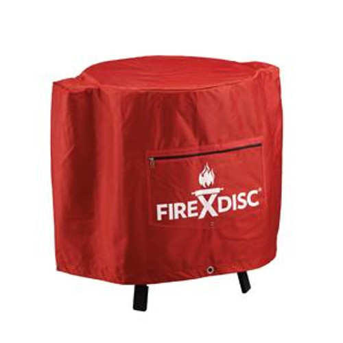 Fire Disc 24 In. Fireman Red Cover TCGFDCR