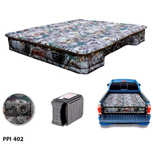 "AirBedz Original Truck Bed Air Mattress PPI 402 Fullsize 6'-6.5' Short Bed (76""x63.5""x12"") With Built-in Rechargeable Battery Air Pump"